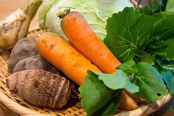 野菜は9割青梅産